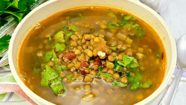 Lentil Tomato Soup