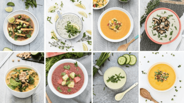 Try any of the 80 flavorful vegan soups from Vanessa's Croessmann's new cookbook, Awesome Vegan Soups, for a healthy and delicious family meal.