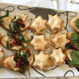 Entertain with ease with these recipes for beautiful and delicious holiday appetizers. #vegan #dairyfree #holiday #appetizers