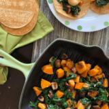 Batch cook butternut squash and cremini mushrooms and use them all week long in these 3 delicious meals perfect for the Fall season.