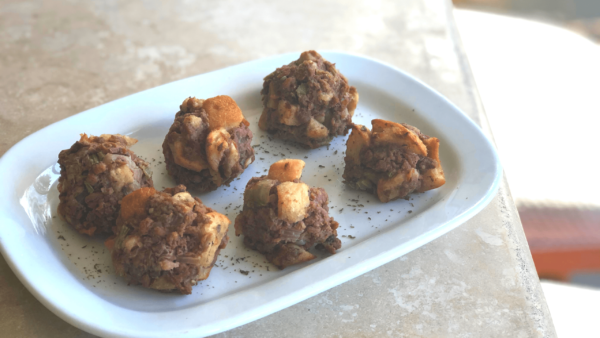 Vegan Stuffing Meatballs